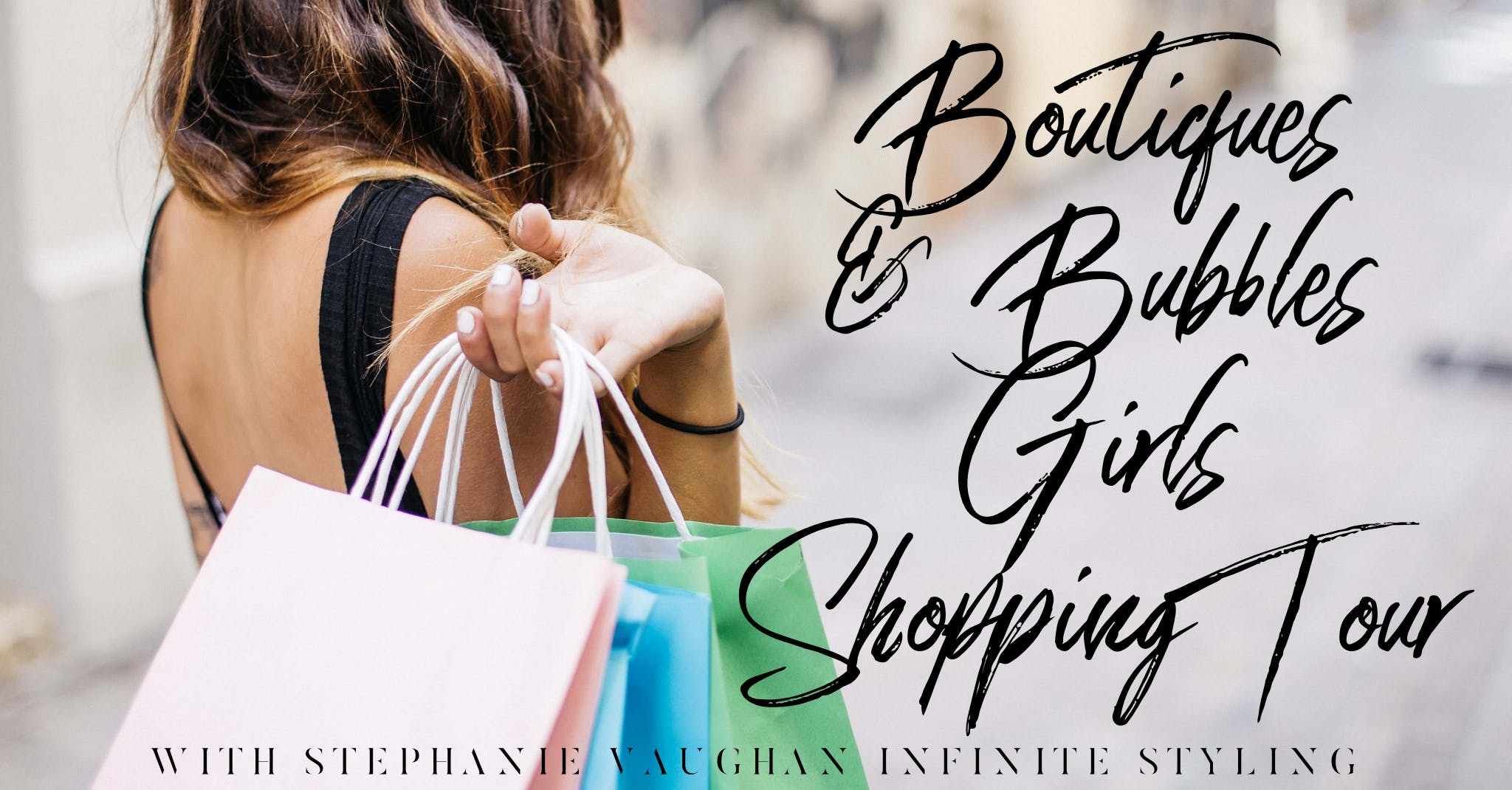 Boutiques &amp Bubbles Girls Shopping Tour