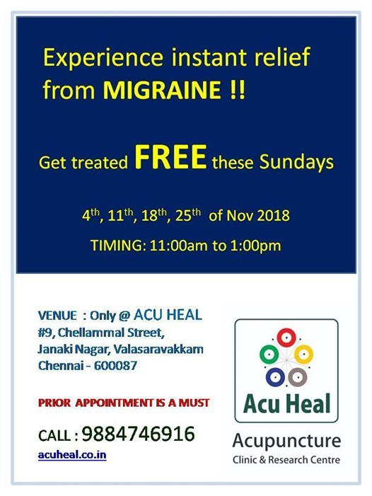 Free Camp for Migraine