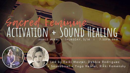 Sacred Feminine Activation  Sound Healing
