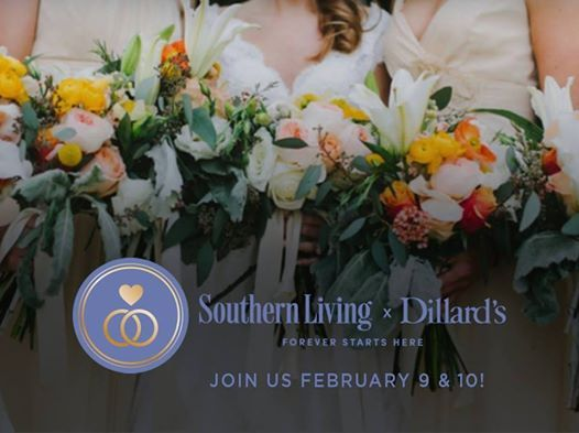 Southern Living x Dillards Wedding Gift Registry Event