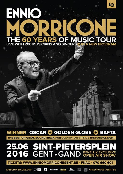 Ennio Morricone The 60 Years Of Music Tour Live In Gent On June 25