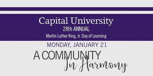 MLK Day of Learning at Capital University 2019
