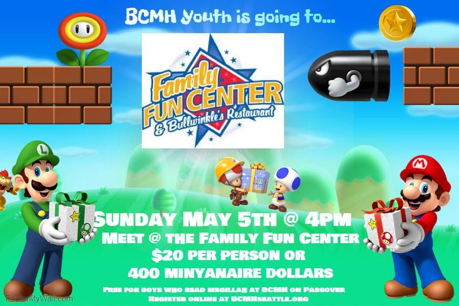 Annual Family Fun Center Trip with BCMH Youth! | Tukwila