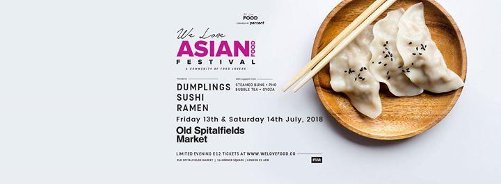 Londons First Dumpling Festival 2018