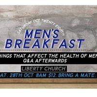 Mens Breakfast - October