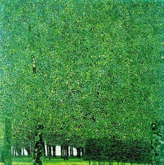 Stage de peinture - Arbres  la manire de Klimt