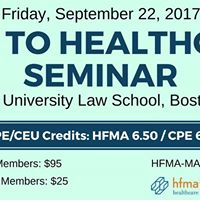 New to Healthcare Seminar