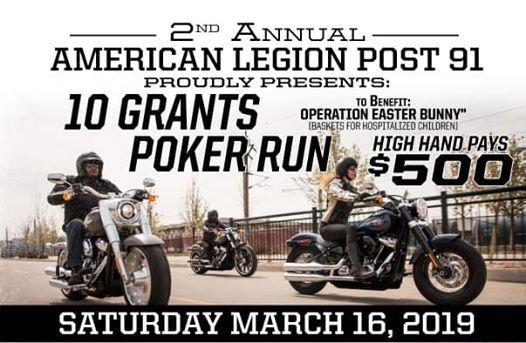 2nd Annual 10 Grants Poker Run