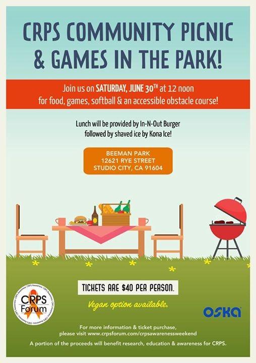 CRPS Community Picnic & Games in the Park at Beaman Park