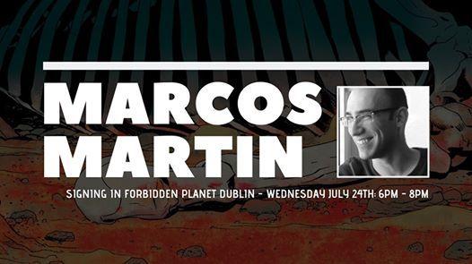 Marcos Martin Book Signing