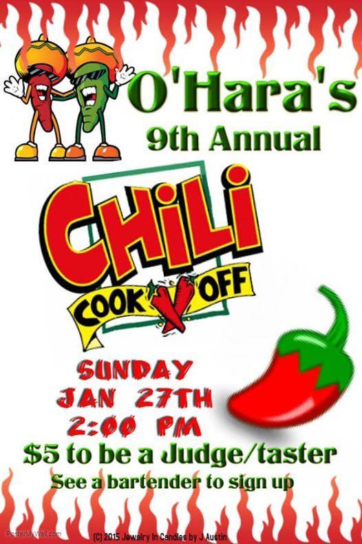 9th Annual Chili Cook Off