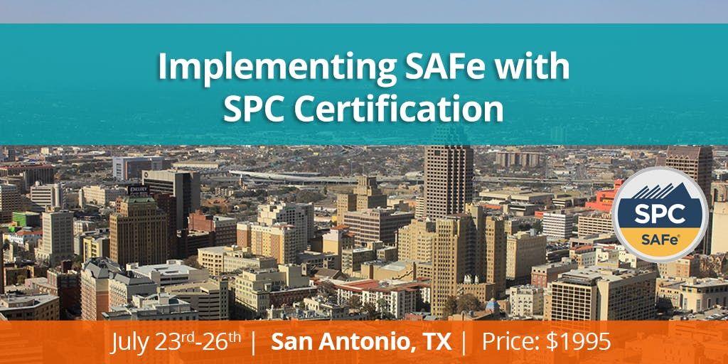 Safe Spc Session In San Antonio San Antonio