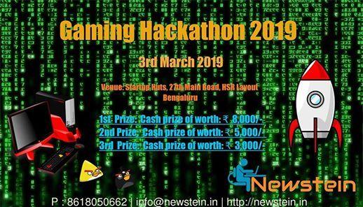 Gaming Hackathon 2019