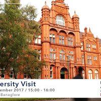 University of Salford visitng SI-UK Bangalore