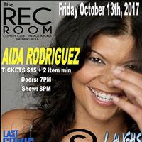 The Rec Room Presents Aida Rodriguez