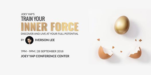 Train Your Inner Force - Discover and Live at Your Full Potential