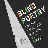 Blind Poetry Edition 6 at antiSOCIAL