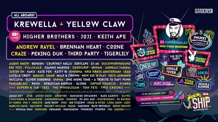 Krewella - Its The Ship in Singapore (DJ SET)