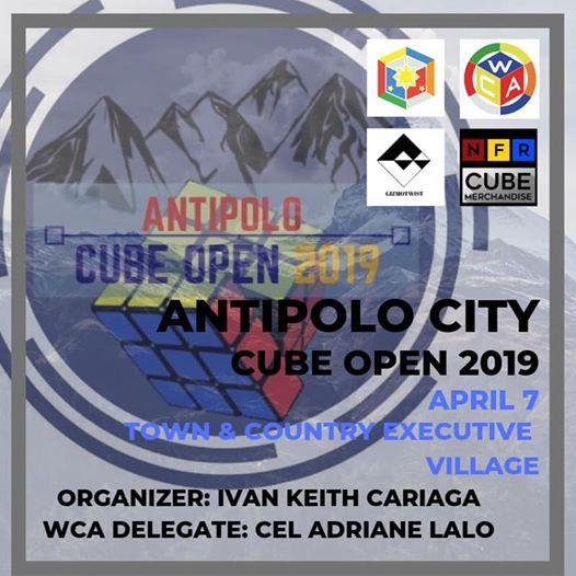 Antipolo City Cube Open II 2019