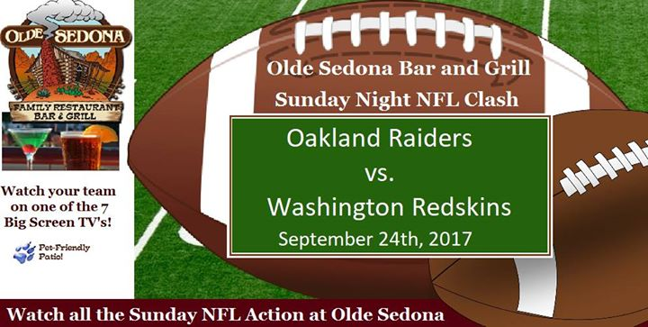 NFL Sunday at Olde Sedona
