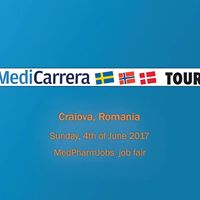 MediCarrera at MedPharmJobs Job Fair in Craiova