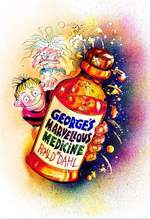 Georges Marvellous Medicine At New Alexandra Theatre