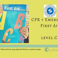 CPR  First Aid Class