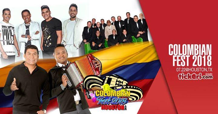 ColombianFest 2018 con La Sonora Poncena Binomio de Oro y mas