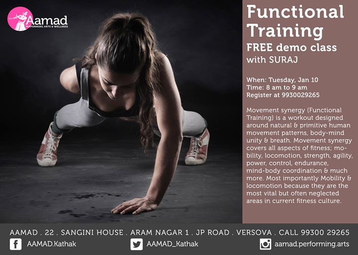 Functional Training - Free Demo session