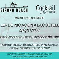 Cocktail Experience  Taller Iniciacin a la Cctelera