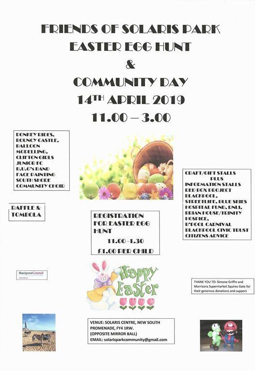 Easter Egg Hunt & Community Day