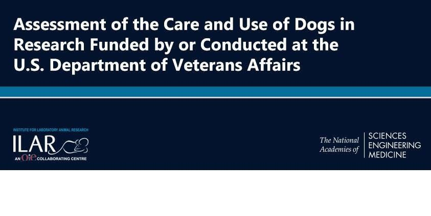 NASEM Assessment of the Care and Use of Dogs in Research Meeting 2