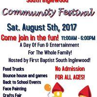 South Inglewood Community Festival