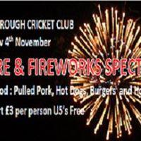 Bonfire and Fireworks Spectacular