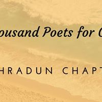 100 Thousand Poets for Change - Dehradun
