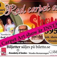 Red carpet art Show