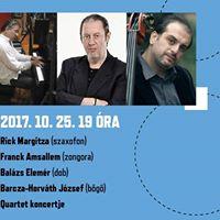 RmerJAZZ-klub Balzs Elemr Quartet koncert