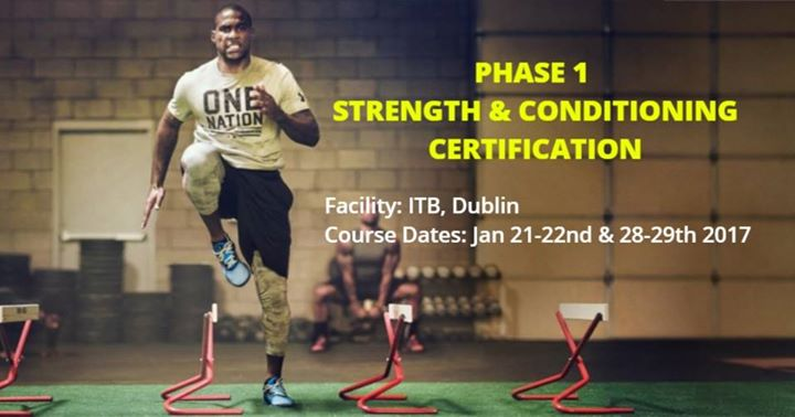 PHASE 1 STRENGTH & CONDITIONING CERTIFICATION