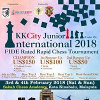 KKCity Junior International 2018 (FIDE Rated - Rapid)