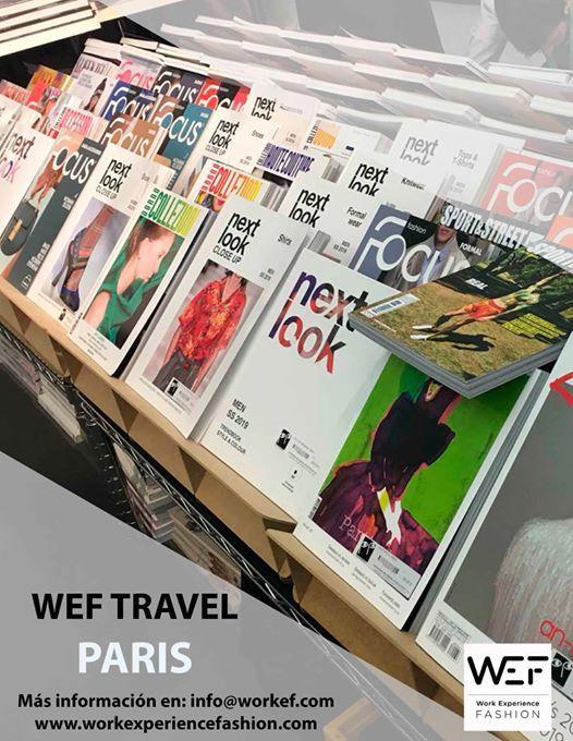 Wef travel en Premiere Vision Pars