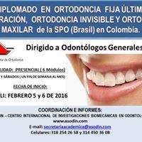 DIPLOMADO EN ORTODONCIA FIJA LTIMA GENERACIN ORTODONCIA INVISIBLE Y ORTOPEDIA MAXILAR de la SPO (Brasil) en Colombia