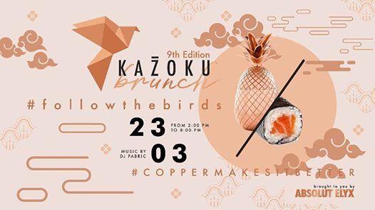 Kazoku Brunch 9th Edition by Absolut Elyx