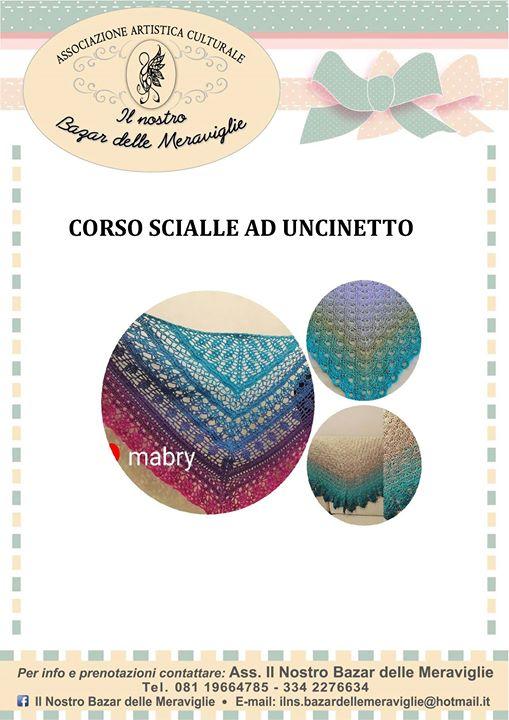 Corso Scialle Ad Uncinetto At Pompei Italy Città Metropolitana Di