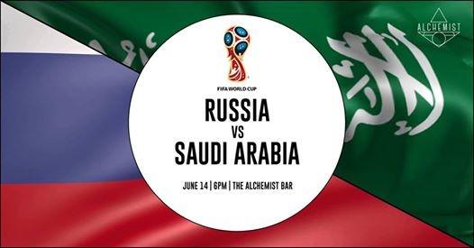 World Cup Russia Vs Saudi Arabia