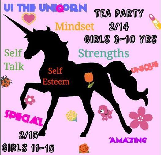 U The Unicorn Tea Party