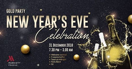 New Years Eve Gold Party