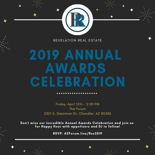 Revelation 2019 Awards Celebration