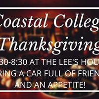 Coastal College Thanksgiving