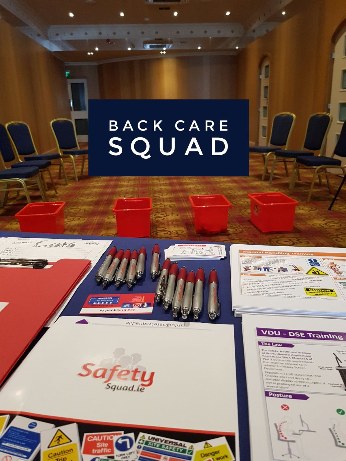 Manual Handling Course - infosafetysquad.ie