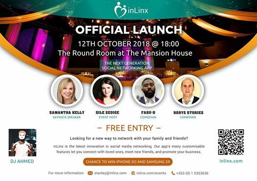 The launch of revolutionary Social Network inLinx